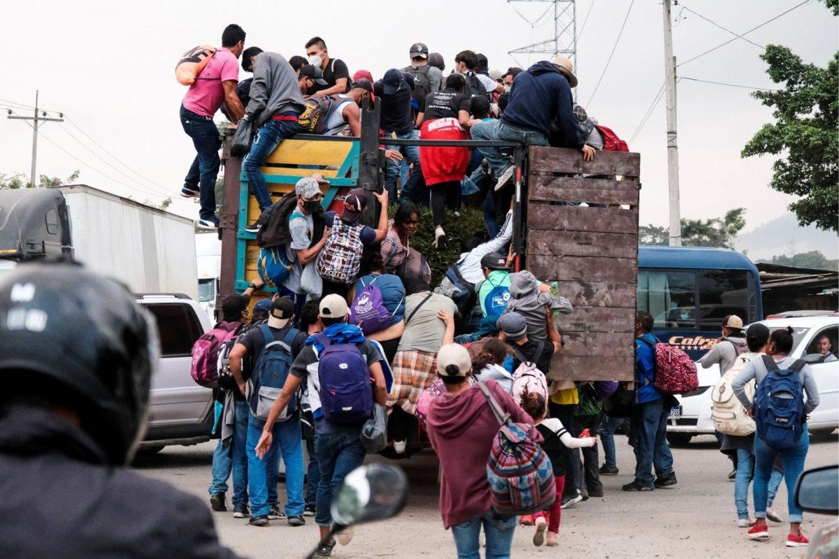 Para el 25 de enero se prepara la segunda caravana migrante de 2021