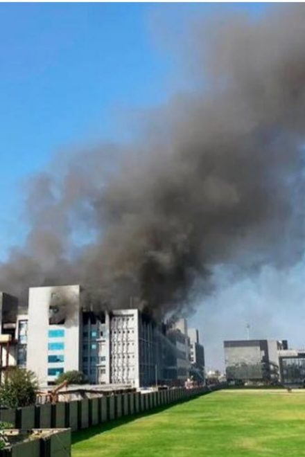 Al menos 5 muertos en un incendio en la mayor fábrica de vacunas del mundo