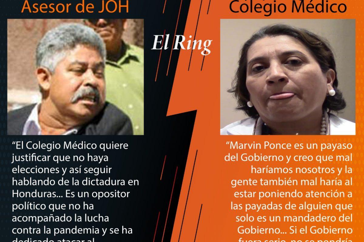 Marvin Ponce y Suyapa Figueroa