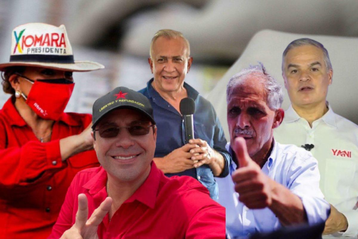 Precandidatos concluyen campaña proselitista autoproclamándose ganadores de las primarias