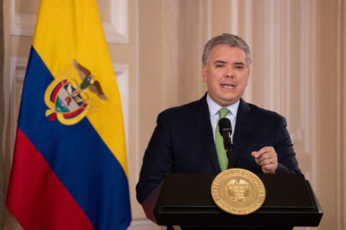 """Presidente Duque pide a EE. UU. declarar a Venezuela como """"país promotor del terrorismo"""""""