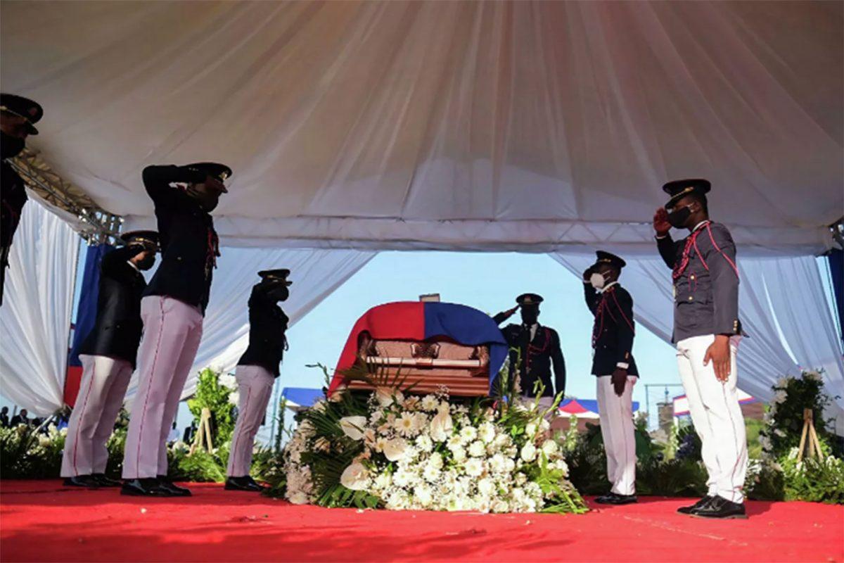 Comienzan en Haití los funerales nacionales del presidente asesinado Jovenel Moise