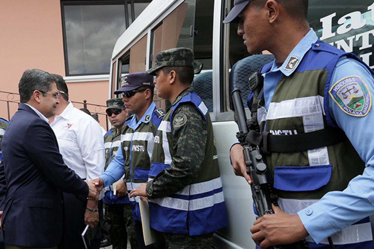 Gobierno de JOH creó más de 30 fuerzas de seguridad en ocho años; violencia sigue imparable