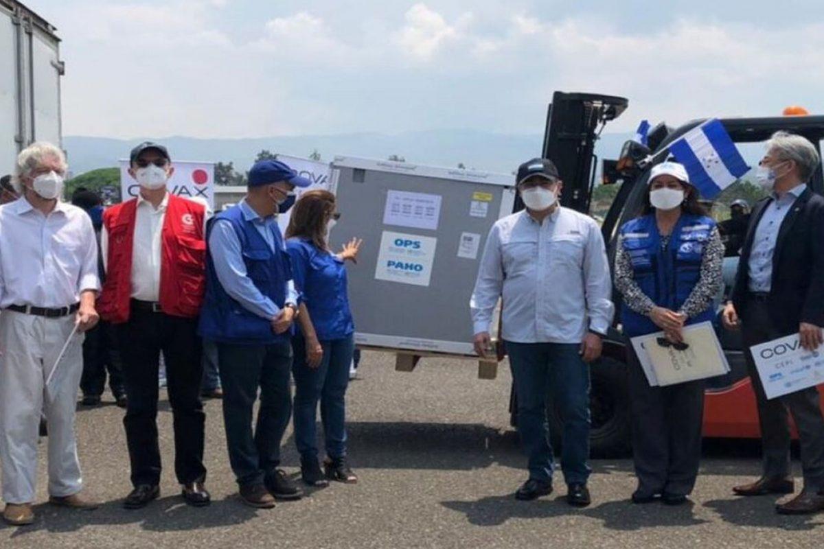 Un 66 por ciento de vacunas adquiridas por Honduras fueron regaladas por países amigos