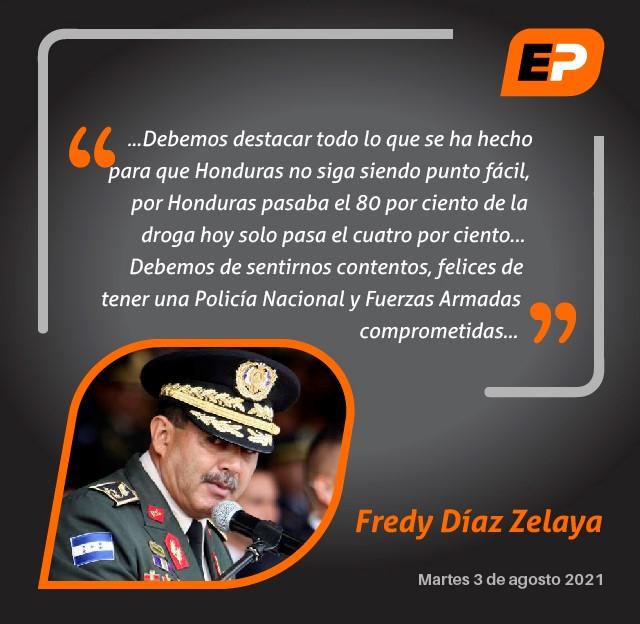 #ElPulso #Citas   Secretario de defensa, Fredy Díaz Zelaya