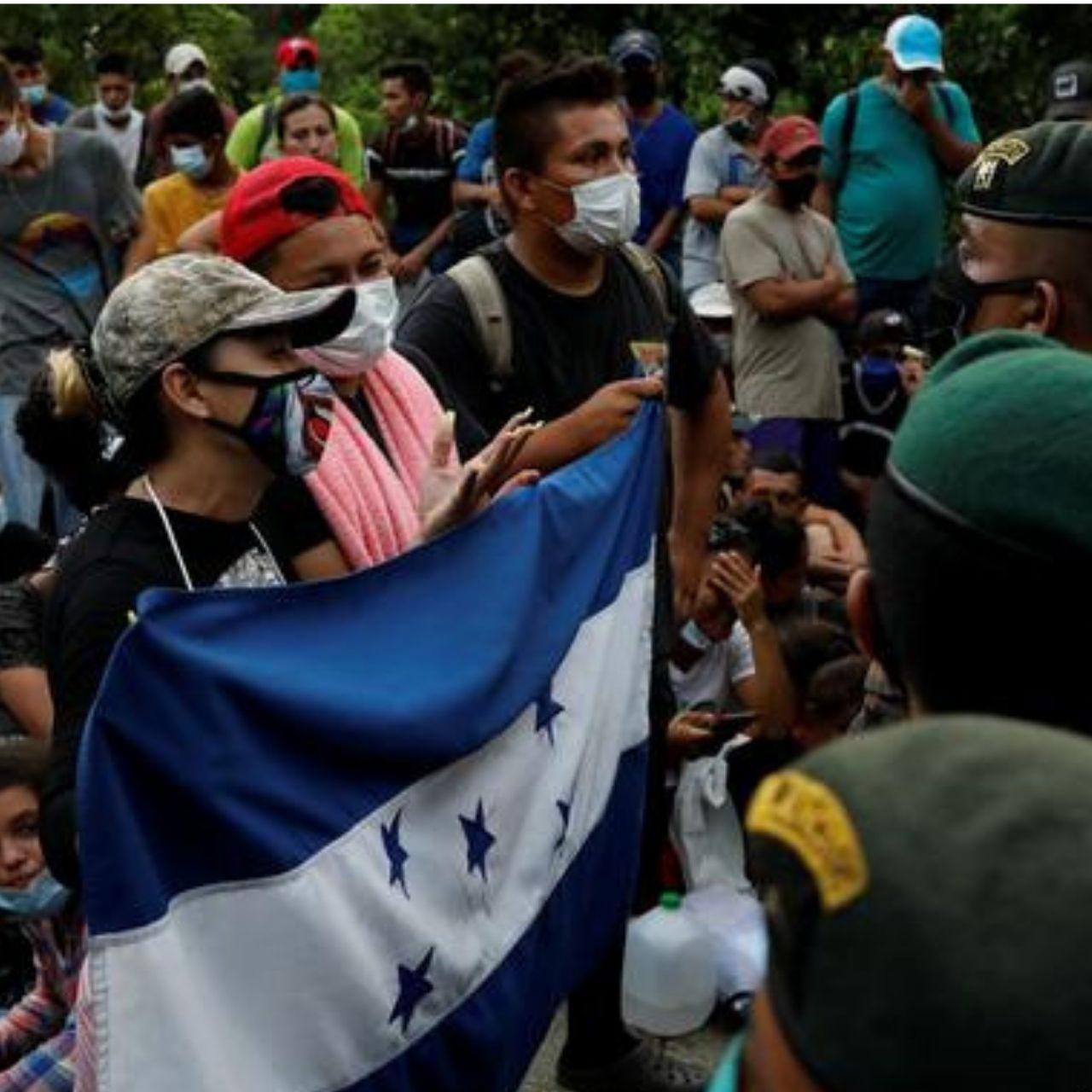 """La pesadilla del """"sueño americano"""" que franquean los hondureños"""