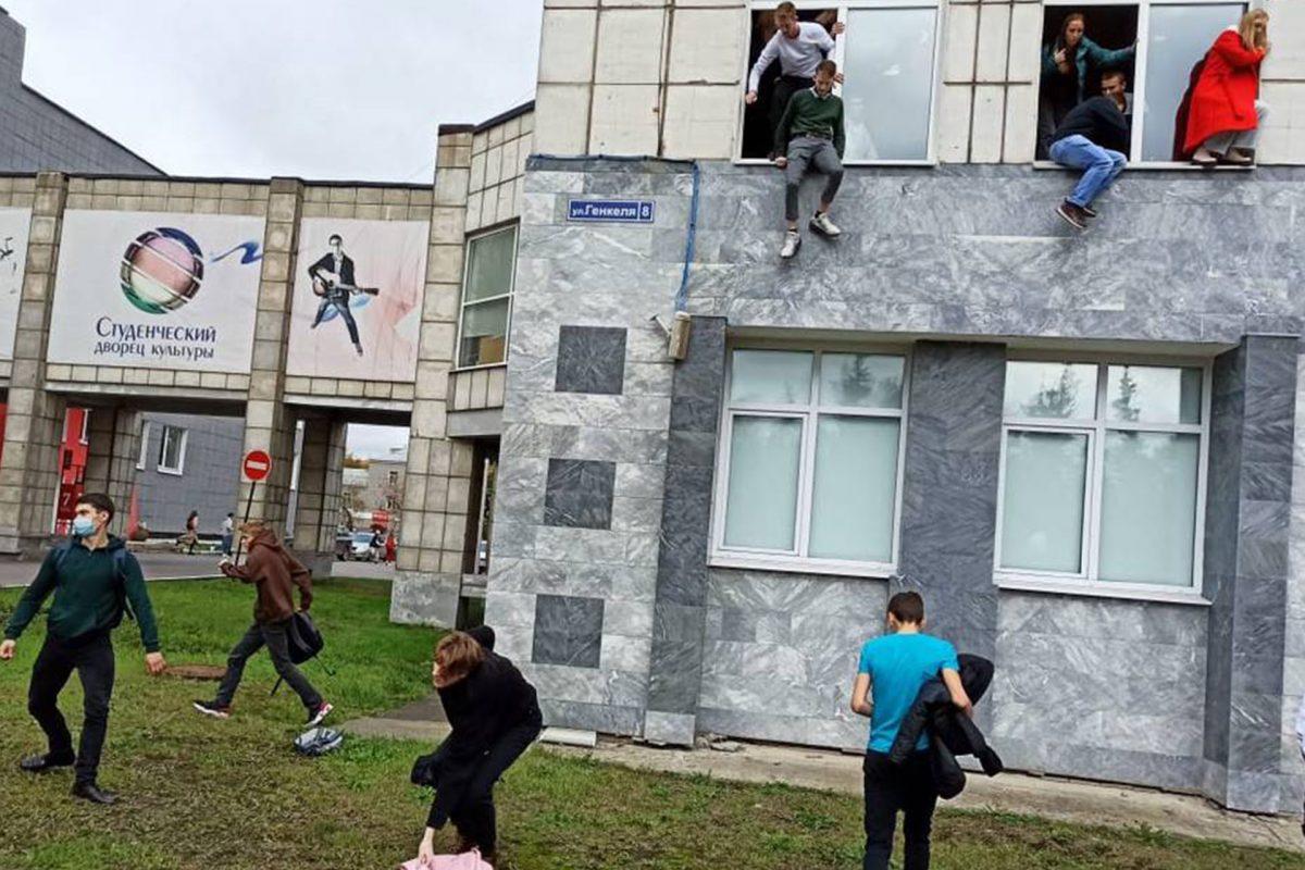 Un estudiante abre fuego en una universidad de la ciudad rusa de Perm dejando varios muertos y heridos