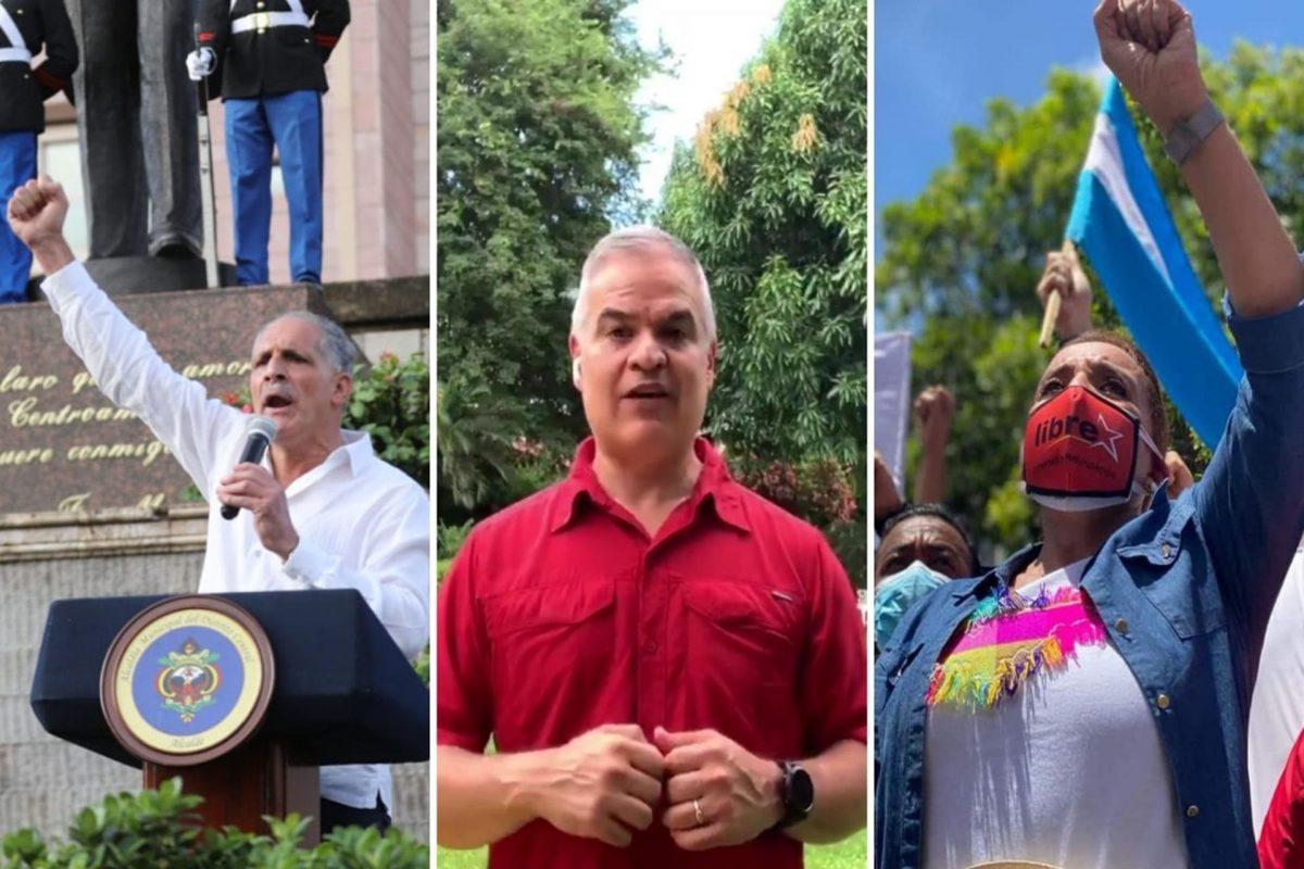 Candidatos presidenciales utilizan celebración de independencia para hacer campaña