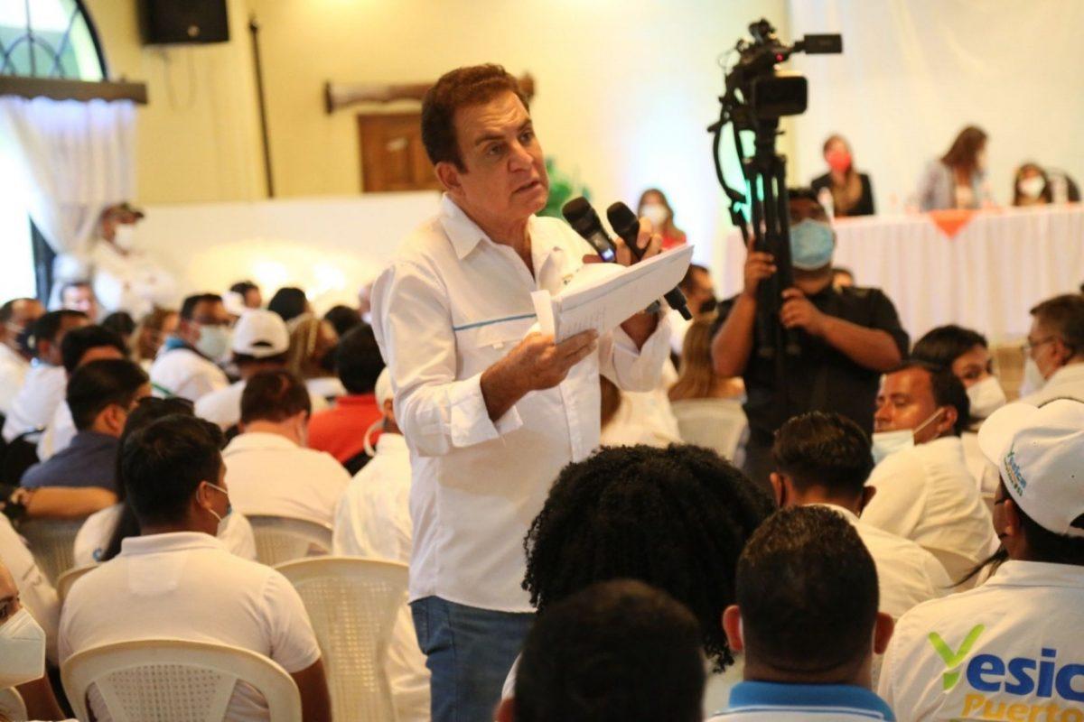 A pesar de resolución del TJE, planillas de diputados de Cortés y Choluteca del PSH sí irían a elecciones