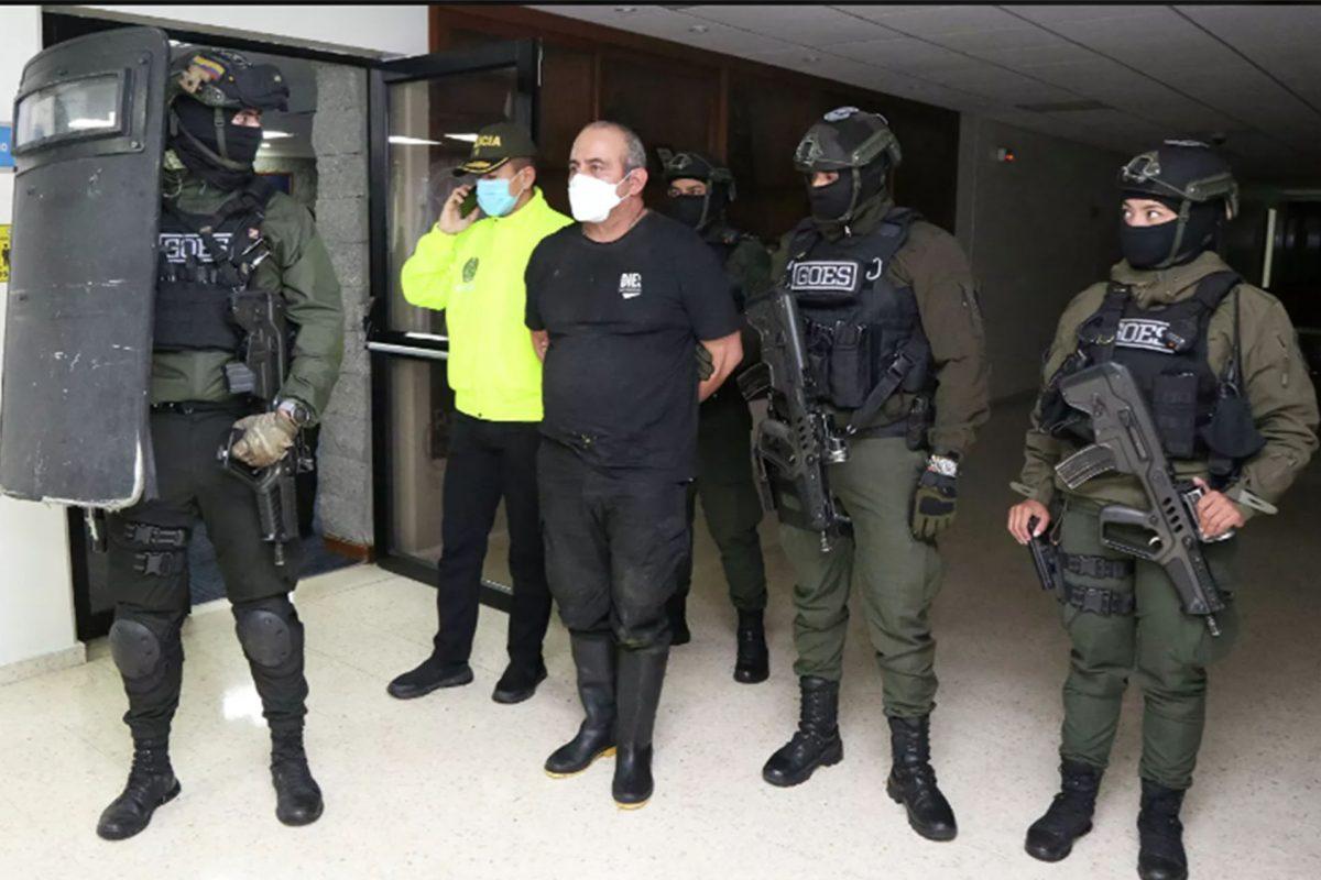 Gobierno de Colombia promete «desmantelamiento de Clan del Golfo» tras captura de Otoniel